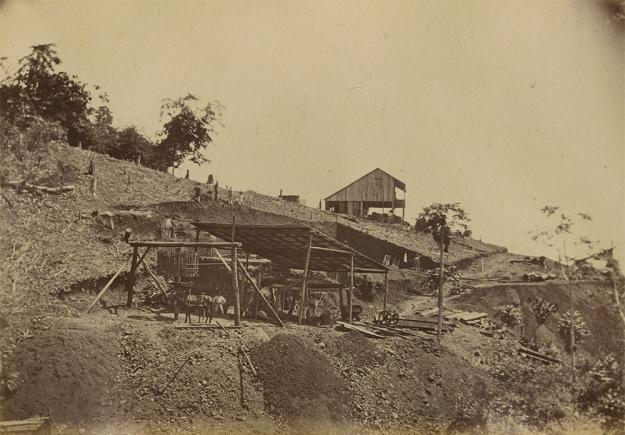 Minas del Callao y Caratal, Estado Bolívar, Venezuela. Siglo XIX.