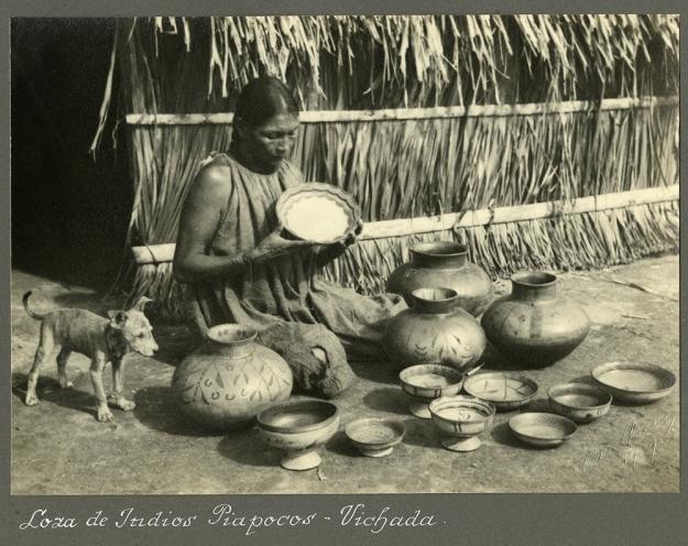 Loza de Indios Piapocos - Vichada
